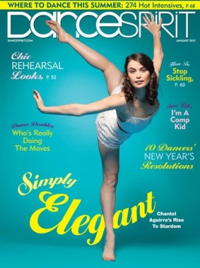 Congrats to Chantel Aguirre on her DanceSpirit Cover.