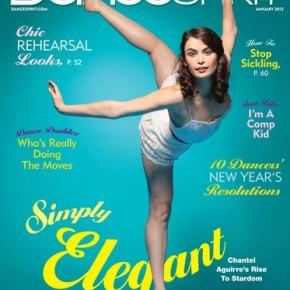 Congrats to Chantel Aguirre on her DanceSpiritCover.