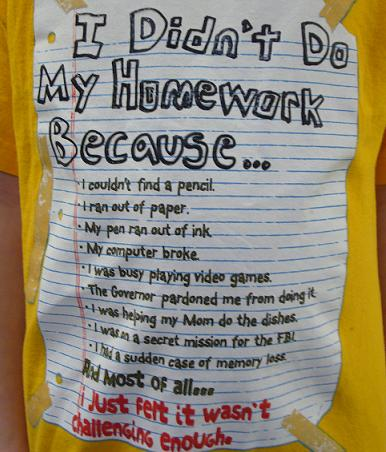 Why should i do my homework