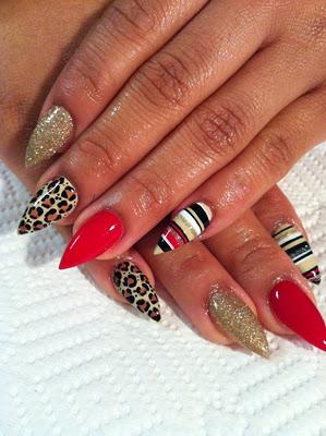 Pointy Nail Designs Tumblr