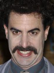 Borat Not Sacha Baron Cohen