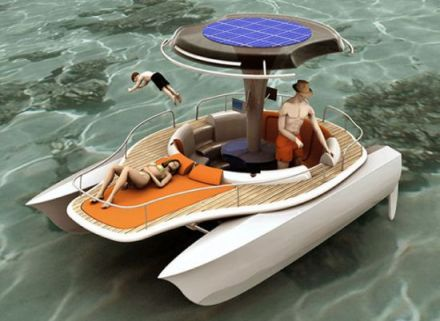 Cool solar powered inventions boats