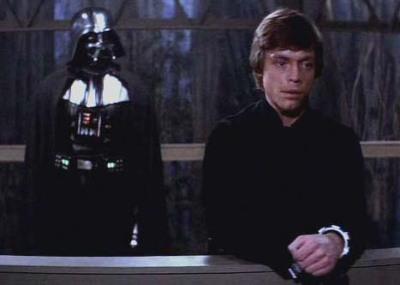 Star Wars I am your father Skywalker Vader