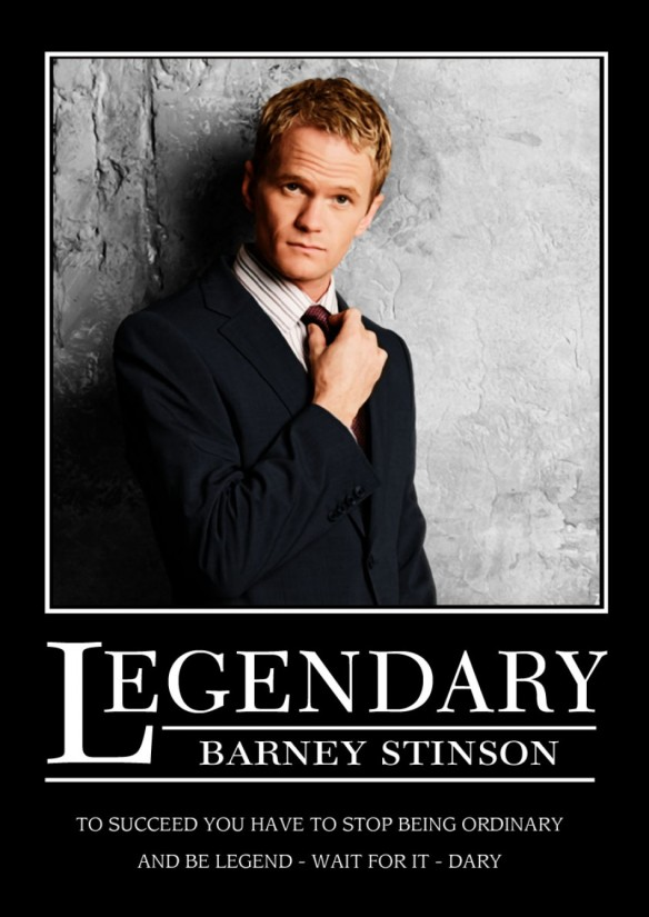 Barney Stinson legendary
