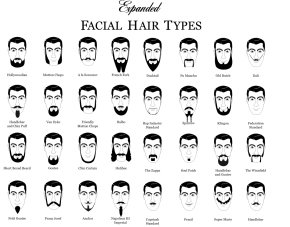 The Male Appearance: Facial Hair Tips
